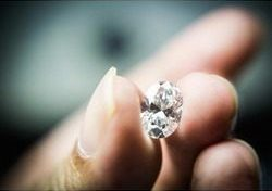 Lab diamonds are bigger and clearer